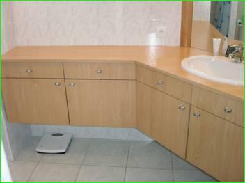salle de bain avec meuble de cuisine - Meuble Salle De Bain Avec Meuble Cuisine